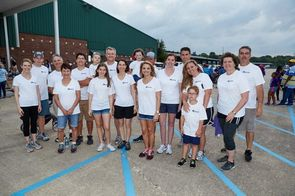 Rubicon employees and Relay for Life participants.
